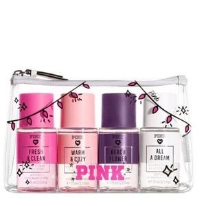VS PINK HOLIDAY MIST SET